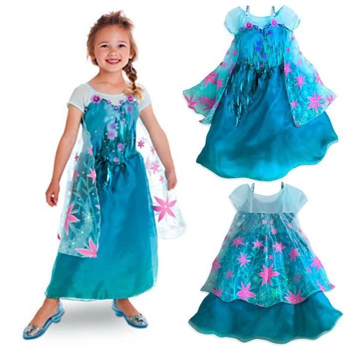 dguisement panoplie nouvelle collection 2015 robe princesse elsa reine