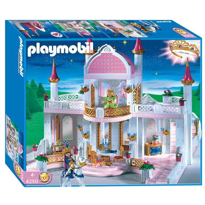 playmobil ch teau de princesse achat vente univers miniature cdiscount. Black Bedroom Furniture Sets. Home Design Ideas