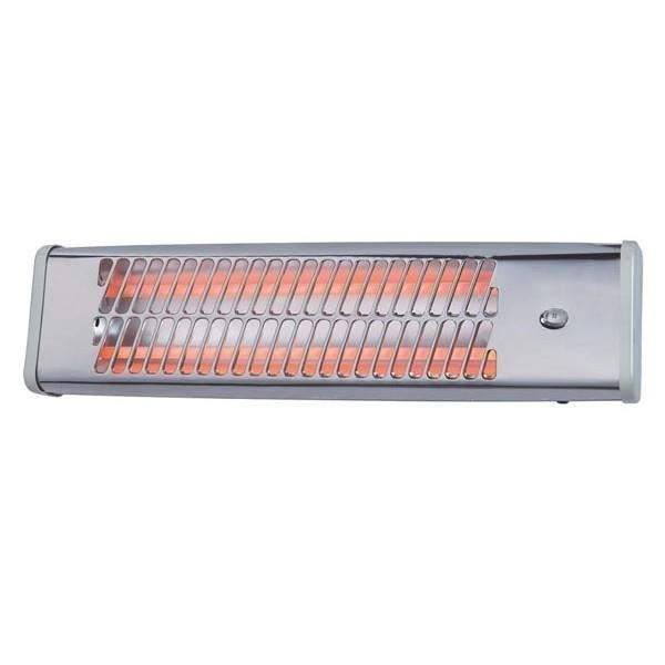 Chauffage radiant infra rouge toolland achat vente for Chauffage radiant infrarouge exterieur