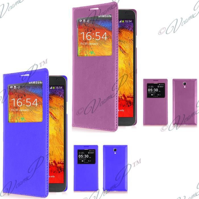 Lot 2 etui view case samsung galaxy note 3 neo lte achat - Difference entre note 3 et note 3 lite ...