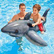 BOUÉE - BRASSARD INTEX Grand Requin Blanc à Chevaucher Jeux de pisc