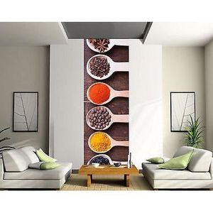 papier peint cuisine achat vente papier peint cuisine pas cher cdiscount. Black Bedroom Furniture Sets. Home Design Ideas