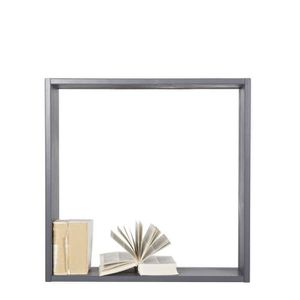 Meuble de rangement gris achat vente meuble de - Etagere murale gris anthracite ...