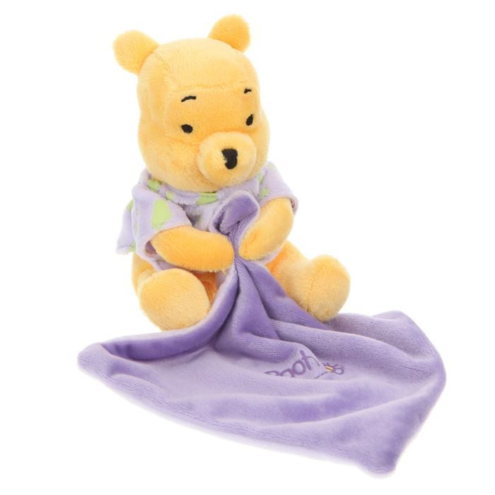 Winnie l 39 ourson doudou avec mouchoir 15 cm achat vente doudou 5413538792517 soldes cdiscount - Chambre winnie lourson cdiscount ...