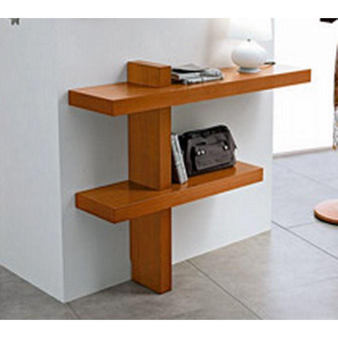 Console moderne 39 santa 39 achat vente console console - Meuble console moderne ...