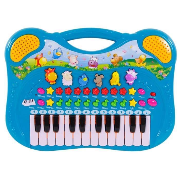 piano clavier enfant animaux de la ferme nombreuses. Black Bedroom Furniture Sets. Home Design Ideas