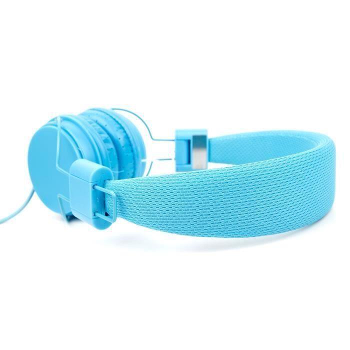 Casque audio enfant bleu pour tablette cdisplay casque - Tablette pour enfant pas cher ...