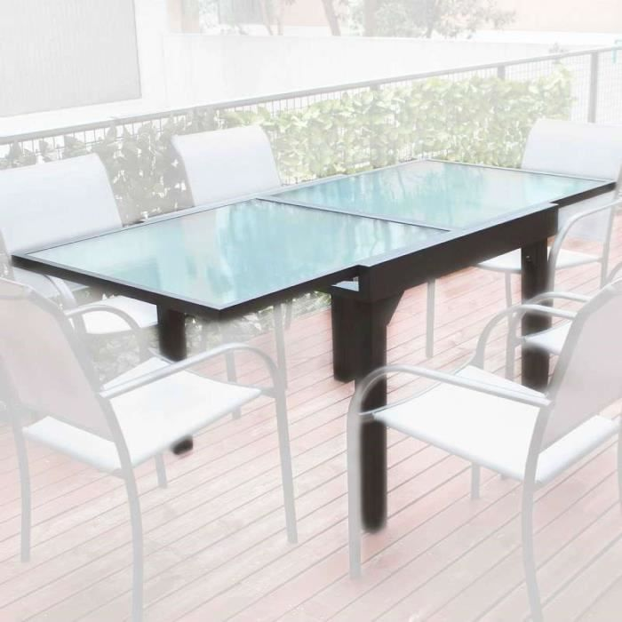 Salon De Jardin Marvin 6 Couverts Table 200 300 Achat