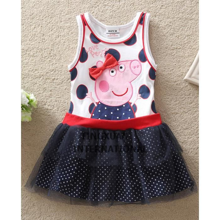 robe robe tunique peppa pig 23456 ans fille