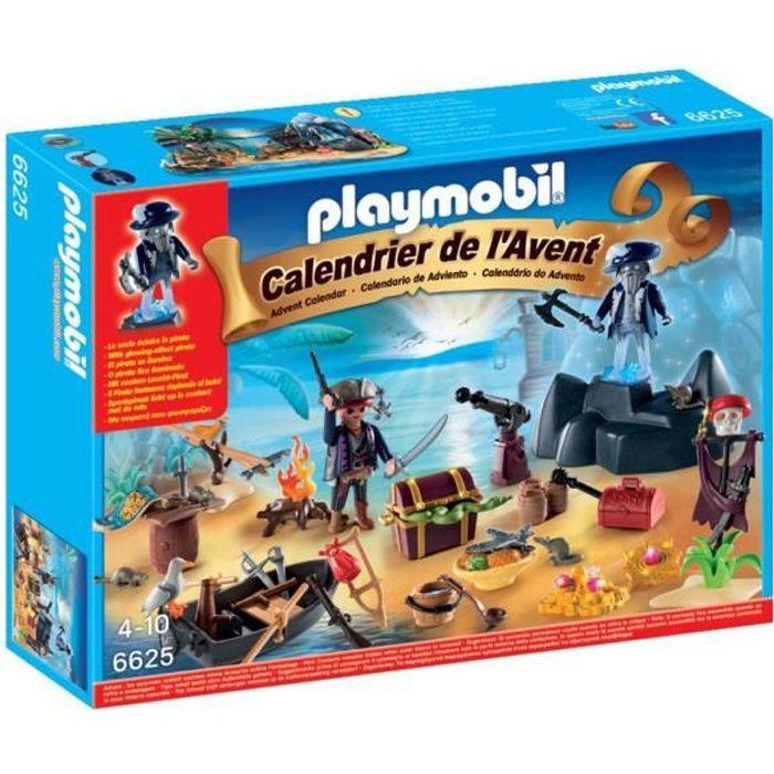 playmobil 6625 calendrier de l 39 avent ile des pirates. Black Bedroom Furniture Sets. Home Design Ideas