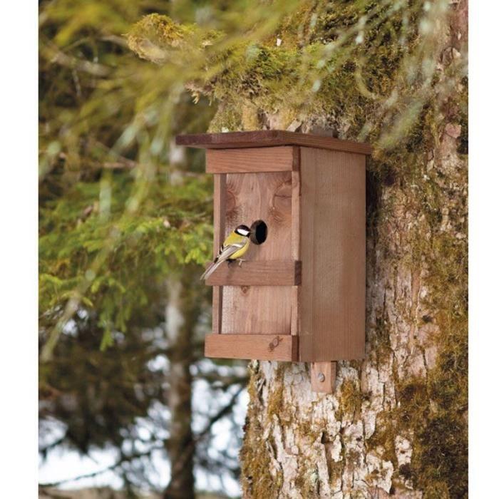 nichoir oiseaux achat vente nichoir nid nichoir oiseaux cdiscount. Black Bedroom Furniture Sets. Home Design Ideas
