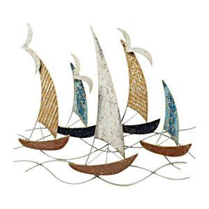 Bateaux voilier decoration achat vente bateaux voilier for Decoration murale fer forge