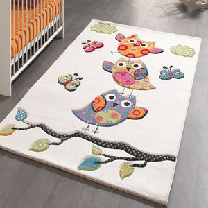 Tapis chouette achat vente tapis chouette pas cher for Tapis de chambre fille