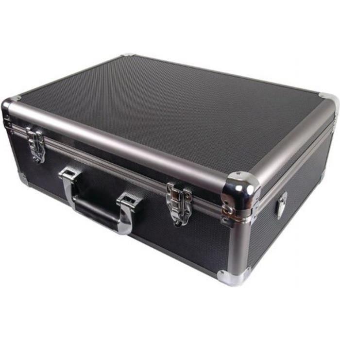 malette de transport en aluminium avec roulette achat. Black Bedroom Furniture Sets. Home Design Ideas