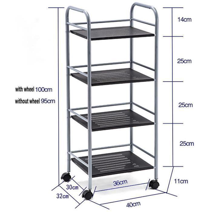etagere cuisine l metal achat vente etagere cuisine l metal pas cher cdiscount. Black Bedroom Furniture Sets. Home Design Ideas