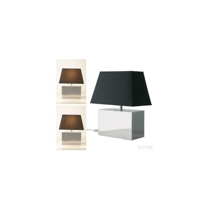 lampe de table bauhaus kare design achat vente lampe de table bauhaus kare cdiscount. Black Bedroom Furniture Sets. Home Design Ideas