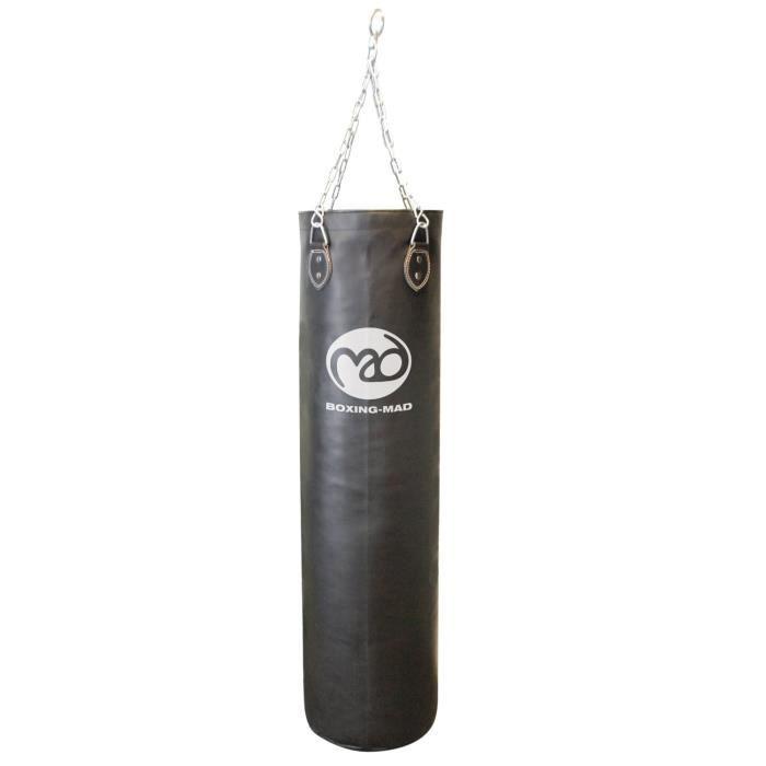sac de frappe pvc boxing mad 120cm x 30cm prix pas. Black Bedroom Furniture Sets. Home Design Ideas