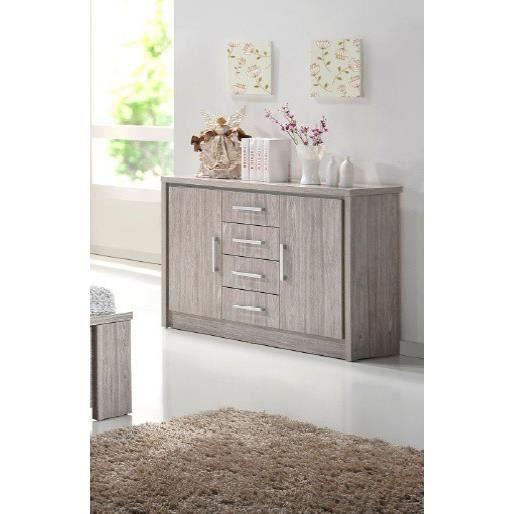 commode 120 cm aude achat vente commode de chambre commode 120 cm aude soldes cdiscount. Black Bedroom Furniture Sets. Home Design Ideas