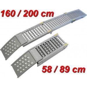 Rampes d 39 acc s pliable 2 en 1 achat vente rampe pour chargement rampes d 39 acc s pliable 2 en for Rampe dacces moto