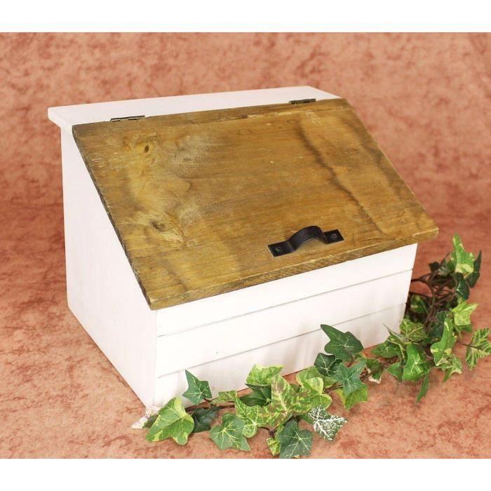 dandibo commode mini coffre 12025 armoire de cuisine bo te i28cm shabby etag re de cuisine. Black Bedroom Furniture Sets. Home Design Ideas