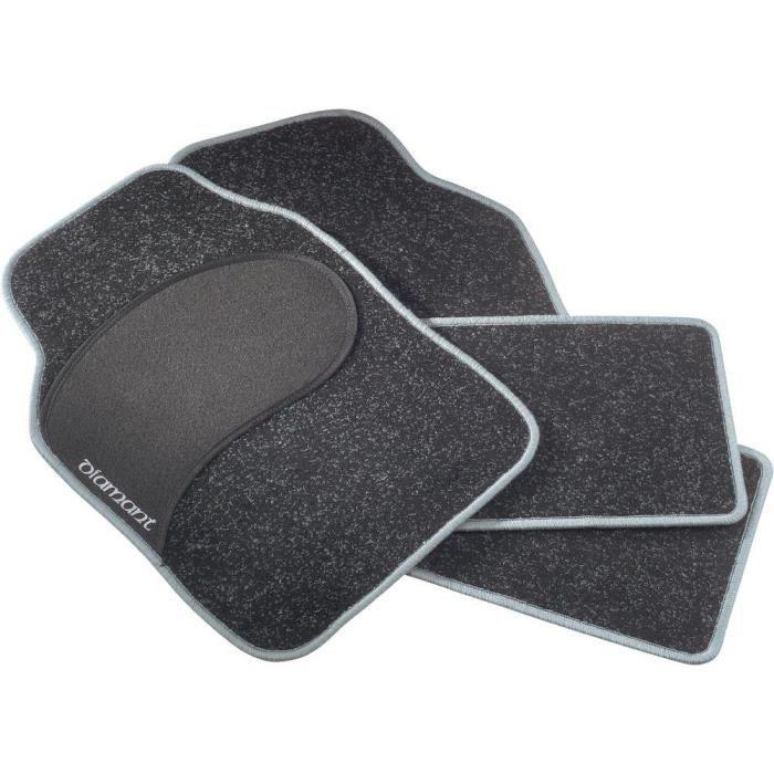 set de 4 tapis de voiture diamant achat vente tapis de sol set de 4 tapis de voiture d. Black Bedroom Furniture Sets. Home Design Ideas