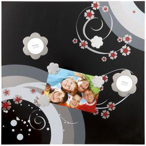 Tableau magnetique photo achat vente tableau - Tableau pele mele magnetique ...