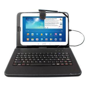 clavier pour tablette samsung tab 4 prix pas cher. Black Bedroom Furniture Sets. Home Design Ideas