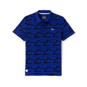 POLO Polo Lacoste yh2087 w1p bleu roi imprimé graphique