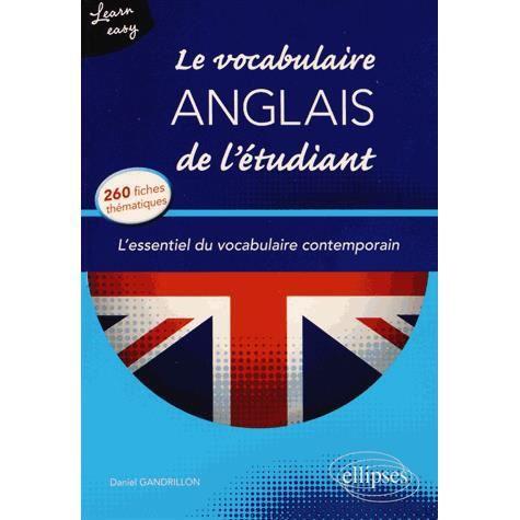 Le vocabulaire anglais de l 39 tudiant achat vente livre daniel gandrillon ellipses marketing - Vocabulaire anglais vente pret a porter ...