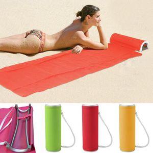 Matelas de plages achat vente matelas de plages pas - Matelas de plage pliable avec repose tete ...
