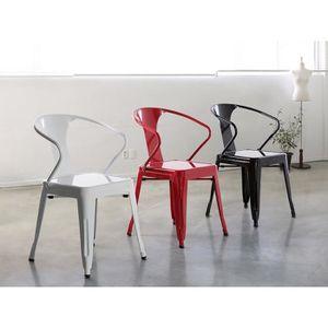 chaises industriel achat vente chaises industriel pas cher soldes d h. Black Bedroom Furniture Sets. Home Design Ideas