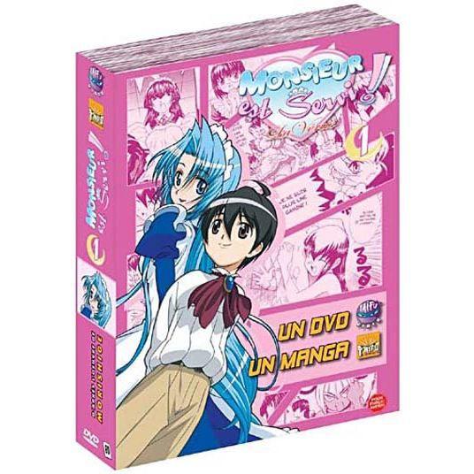 DVD MANGA DVD Monsieur est servi, la verite