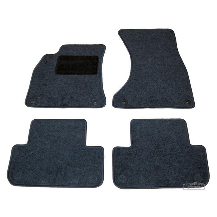 tapis de sol textile audi a4 b8 achat vente tapis de sol tapis de sol textile audi a. Black Bedroom Furniture Sets. Home Design Ideas