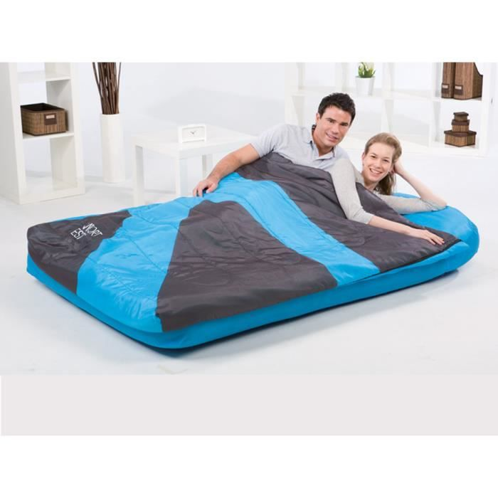 matelas gonflable 2 places 2 en 1 achat vente lit. Black Bedroom Furniture Sets. Home Design Ideas