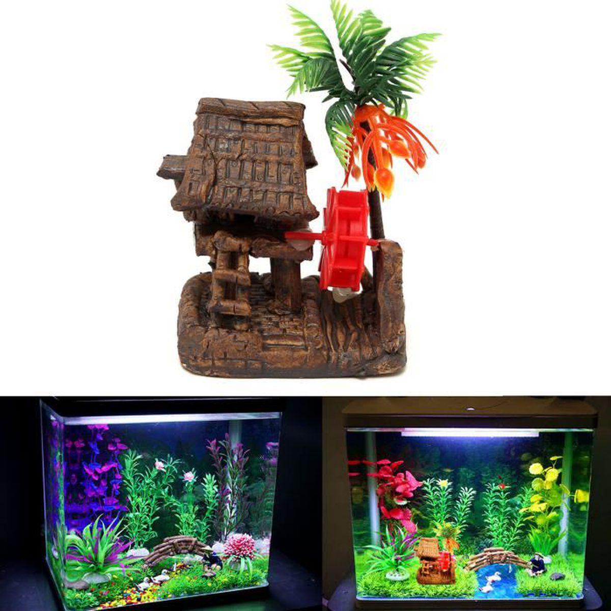 Tempsa artificielle maison en c ramique pr d co aquarium for Achat deco aquarium