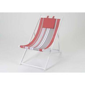 chaises bord de mer achat vente chaises bord de mer pas cher cdiscount. Black Bedroom Furniture Sets. Home Design Ideas