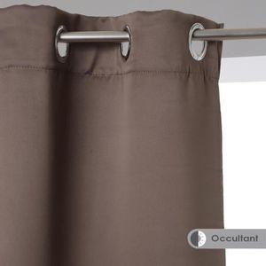 rideaux pour dressing achat vente rideaux pour dressing pas cher cdiscount. Black Bedroom Furniture Sets. Home Design Ideas