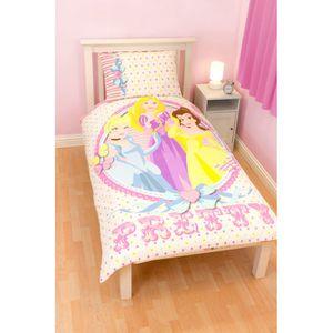 parure de lit disney fille achat vente parure de lit disney fille pas cher cdiscount. Black Bedroom Furniture Sets. Home Design Ideas