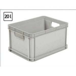 grande boite en plastique achat vente grande boite en plastique pas cher cdiscount. Black Bedroom Furniture Sets. Home Design Ideas