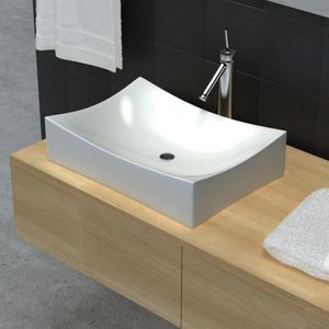 Lavabos vasques achat vente lavabos vasques pas for Vasque ceramique salle de bain