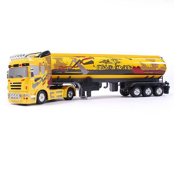prod MTYMzYODg RADIOCOMMANDE TERRESTRE Camion Citerne  Jaune Mini RC Camions