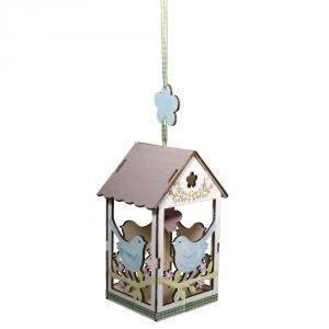 Kit nichoir en bois noces d 39 oiseaux 8 3x7 8x15 achat vente support - Nichoir en bois a decorer ...