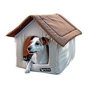 petite maison en tissus pour chien chat marron achat vente accessoire abri animal petite. Black Bedroom Furniture Sets. Home Design Ideas