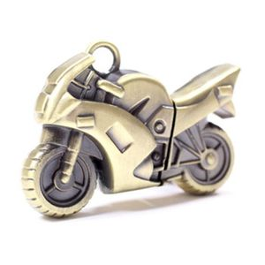 CLÉ USB Clé USB JumpDrive métal Or Métal Moto imperméable