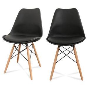 Chaise cuisine couleur chaise cuisine orange arthur - Chaises de couleur ...