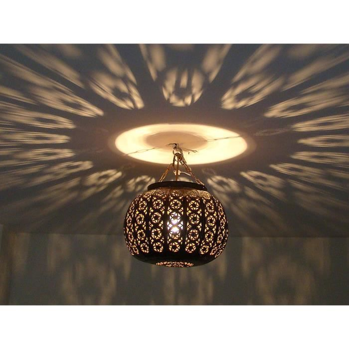 lustre plafonnier lampe marocain m tal cisel maroc oriental lanterne bougeoir achat vente. Black Bedroom Furniture Sets. Home Design Ideas