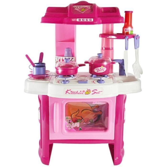 cuisine dinette cuisini re en plastique pour enfants jeux jouet moderne 0101011 achat vente. Black Bedroom Furniture Sets. Home Design Ideas