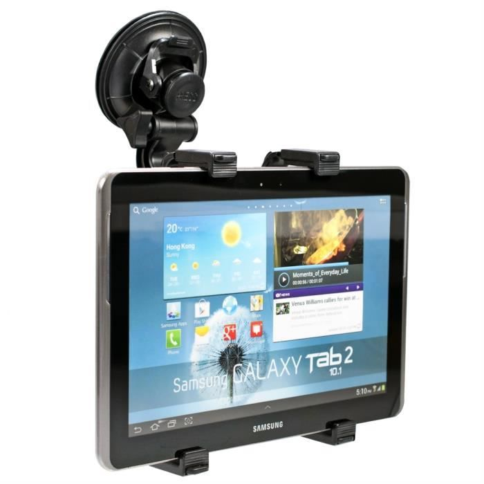 Kwmobile support tablette solide pour samsung galaxy tab - Tablette samsung 10 1 pas cher ...