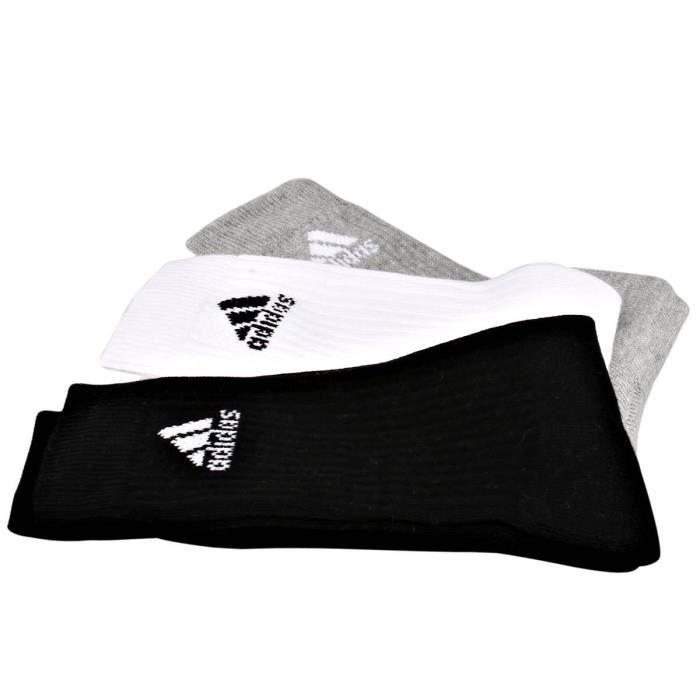 adidas chaussettes adicrew hc 4 paires homme r banc gris noir achat vente chaussettes. Black Bedroom Furniture Sets. Home Design Ideas