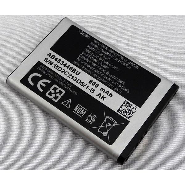 batterie origine samsung ab463446bu achat batterie t l phone pas cher avis et meilleur prix. Black Bedroom Furniture Sets. Home Design Ideas
